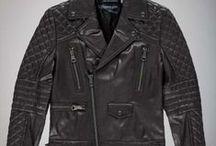 Menswear leather
