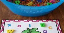 Back to School / Kindergarten and First Grade Back to school teaching ideas and centers