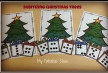 Reindeer's, Elves, and the Red Guy / Christmas, Gingerbread man, elves, Reindeer and more ideas for December in Kindergarten