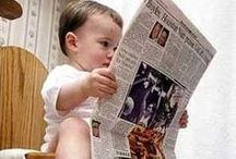 Funny potty training pics