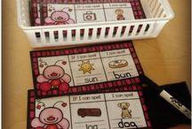 February in Kindergarten / Kindergarten ideas for February, including Valentine's Day, Groundhog's Day, President's Day, and Dental health