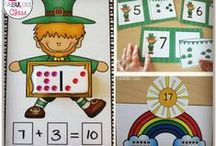 March in Kinder / Ideas for March in Kindergarten including Dr. Seuss, St.Patrick's Day, Leprechaun's, and Weather