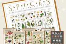 Spice Art / Seasonings, Spices, Blends, Flavor, Passion, and Beauty.