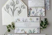 Wedding Stationary Inspiration / Wedding Stationery, Design, Colors