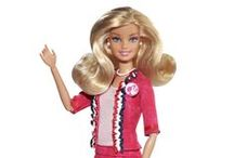 Barbie / Because she's super cool, Blonde and we love her.