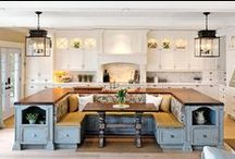 Dream Kitchen Inspiration / Amazing swoon worthy kitchen inspirations!
