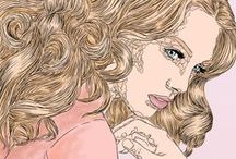 Women illustration / My concept arts