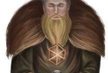 Historical, vikings, slawic / My t-shirt illustrations