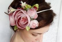 headband, headpice, flapper headband / decorate your head - inspiration :)