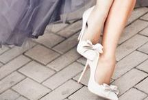 Wedding Shoes / Diamonds may be a girl's best friend, but shoes are pretty dang important.