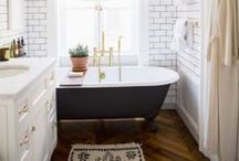 Vintage Bathrooms / I am in the process of renovating a property with five very dated bathrooms. I need to figure out how to make the most of small spaces and claw foot tubs!
