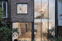 VICTORIAN | House Extensions / Victorian terrace, house extension, side extension, glazed extension, modern conservatory, bifold doors, kitchen extensions / by Anthi Leoni Decor