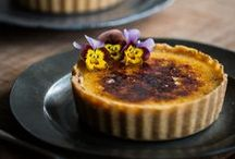 RECIPES | Baked Tarts | Pies | Pastry / baked tarts, pastry and pies, pie crust, pastries, baked in the oven pies, puddings and tarts / by Anthi Leoni