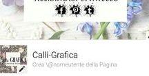 *Calli-GRAFICA Alexandra Spiniello* / *I mie servizi di decorazione calligrafica*