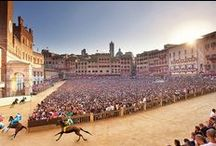 """Palio di Siena / """"Not just a horse race"""""""