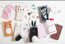 Phone cases / I want these! / by Krischnam Montano
