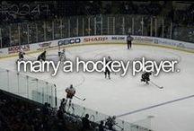 Hockey BABY!! / by DakotaRae .