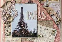Cartes d'Inspirations / Scrapbooking - DIY