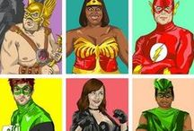 Super-Heroes and other unnecessary creatures