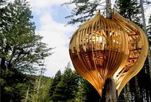 Interesting architecture / Mostly log & tree houses plus interesting, generally wood related, projects.