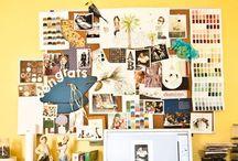 Inspiration board / Cadre de vision