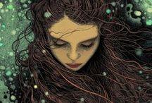 Illustration - Anime - Comic - Fantasy / by Mónica Conde