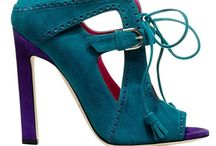 """Not Just Shoes """"Turquoise and Teal"""""""