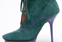 """Not Just Shoes """"Viridian Green&Emerald Green"""""""