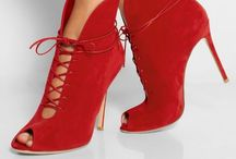 """Not Just shoes """"Warm Red"""""""