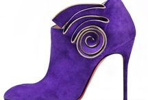"""Not Just Shoes """"Purple and Lilac"""""""