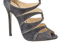"""Not Just Shoes """"Grey, Charcoal and Silver"""""""