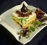 PASTELES, PUDDINGS  Y TARTAS SALADAS / Diferentes tipos de puddings, pasteles y tartas saladas