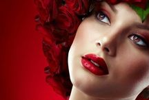 "Fashion""Autumn ❄️Winter-Red"""