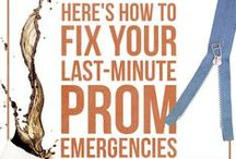 Prom Tips, Tricks, and Hacks / Everything you need to know to help you plan for prom and have the night be perfect!