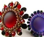 Jewellery videos - rivoli,cabochon,flowers