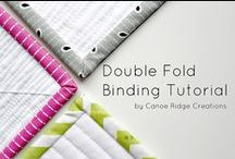 Quilting Tutorials / How to tutuorials for quilting techniques