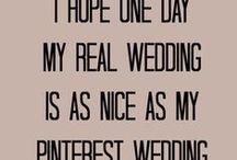 My someday [cottage] wedding