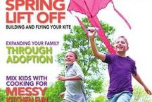 Our Kids Magazine Covers