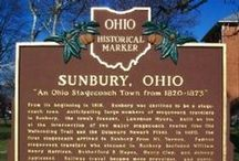 Childhood Memories / Growing up in and around Sunbury OH
