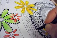 ART* Doodles/Zentangles