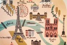 France & Paris / by A w Fitzgerald