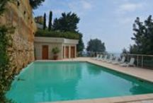 Properties with Pool/France / Check out the nicest properties with swimming pool in the Italian and French Riviera!