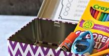 School Organization / Tips, tricks, and ideas to organize your classroom and teaching supplies.
