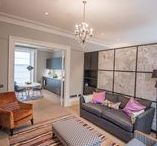 Ground Floor Refurbishment - Holland Park / Re-design of a one bedroom flat on the ground floor of a listed Grade II property in West London.