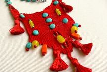 my work - needleweaving jewels / jewelry