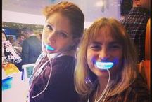 GLO Selfies / Selfies around the globe using our famous GLO Whitening Device!