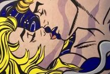 Roy Fox Lichtenstein / He was an American pop artist. During the 1960s, along with Andy Warhol, Jasper Johns, and James Rosenquist among others, he became a leading figure in the new art movement.