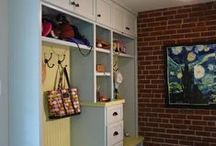 Built-In Storage and Organization / From mudroom cubby holes to full kitchen storage overhauls, we can design and build the storage options that fit your family.