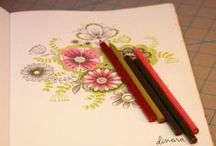 Art journaling / by Kerrie F