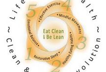 "Clean & Lean Revolution!  / A sophisticated plan to get the body you want. Created by Functional Medicine Nutritionist, Angela Pifer ""When your gut is healthy, your skin glows."""